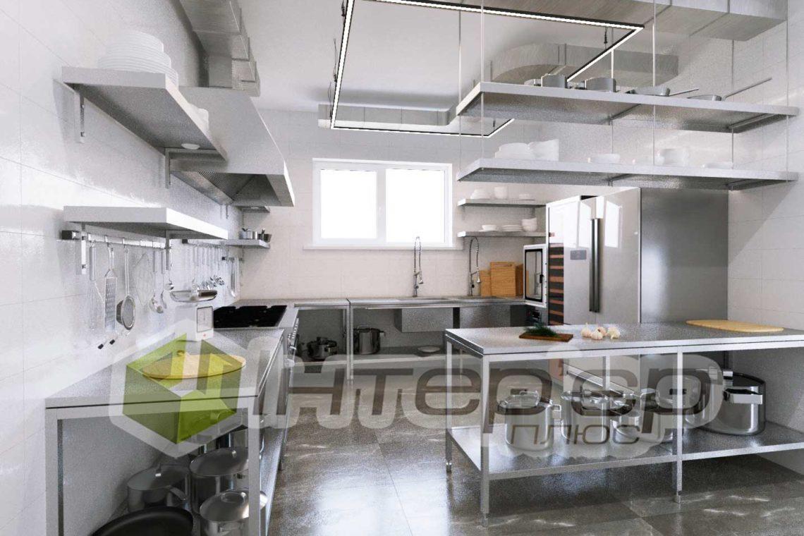 Дизайн кухни в SPA салоне Киев