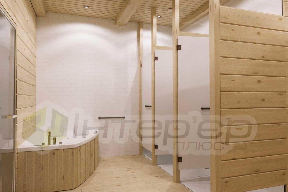 Визуализация финская баня ,сауна Киев