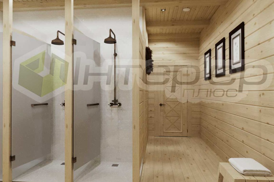 Дизайн финская баня сауна Киев