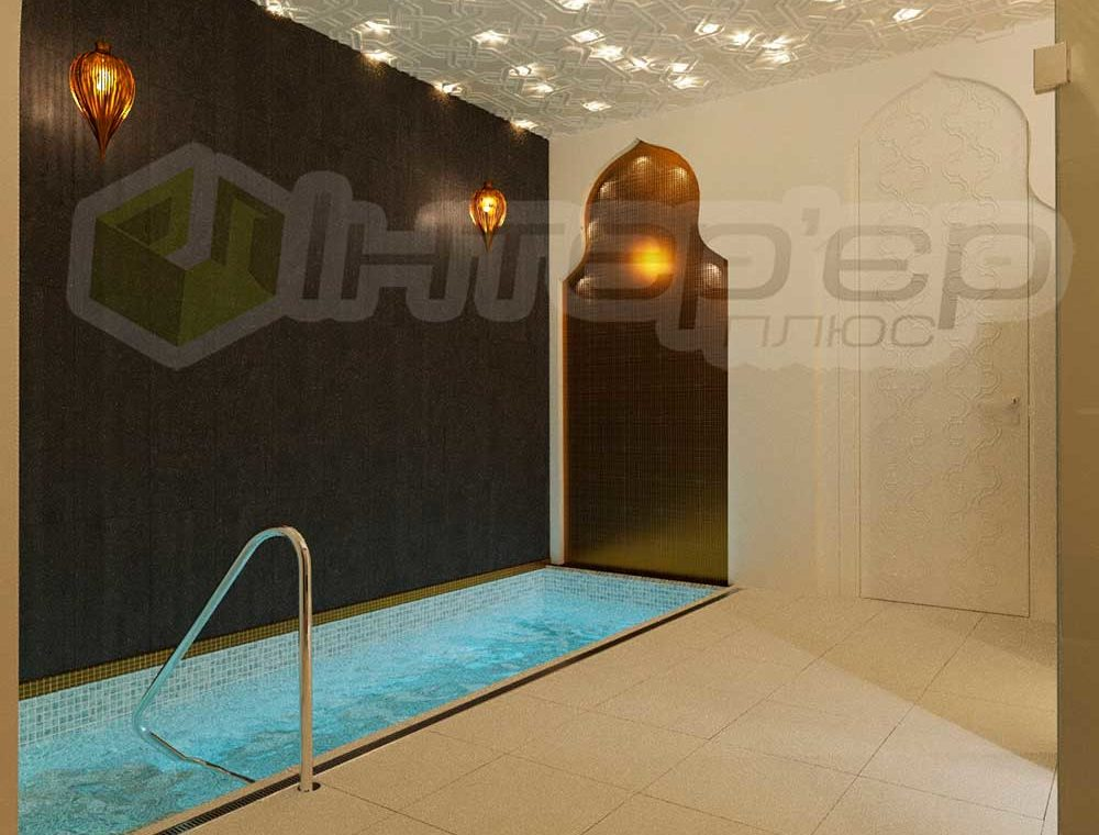 Дизайн басейна в Хамам Киев