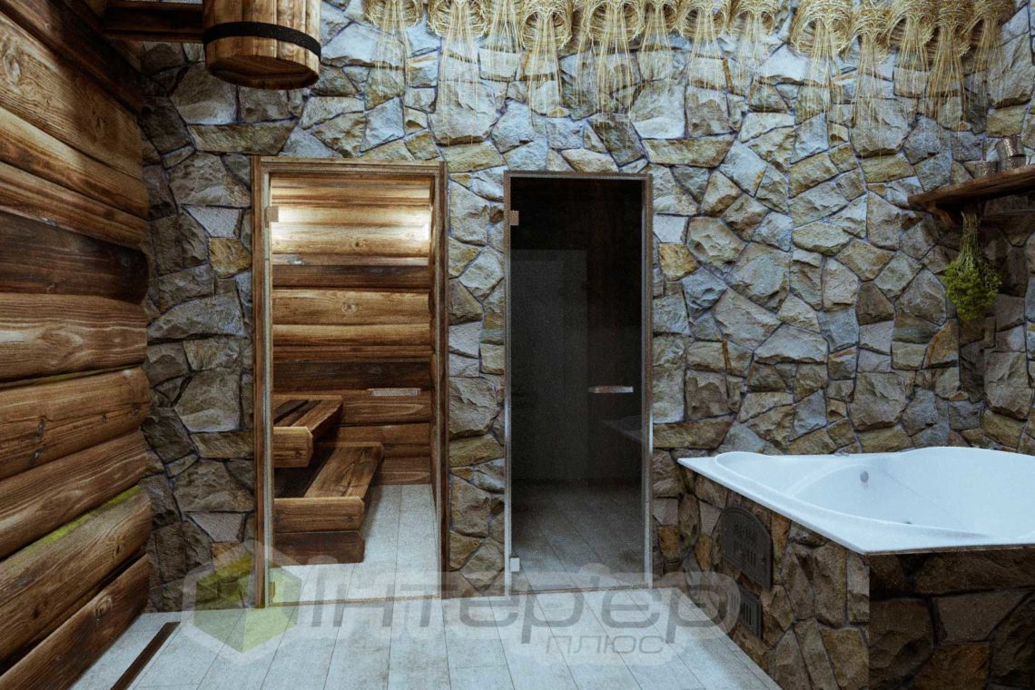 Дизайн русской бани Одесса